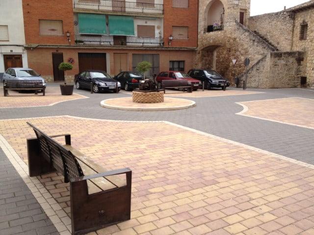 Adoquín de hormigón en Cuenca