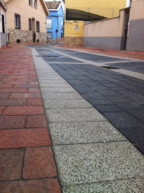 Adoquín Praga | Trabajos realizados Prefabricados La Jara | Adoquines de hormigón en Albacete
