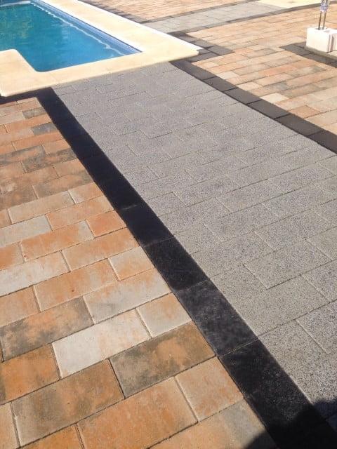 Adoquín rectangular Puebla de Vallbona | Adoquines de hormigón Madrid | Prefabricados La Jara