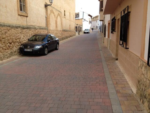 Adoquines en Sisante | Adoquín Praga rojo | Prefabricados de la Jara | Adoquines de hormigón en Albacete y Madrid
