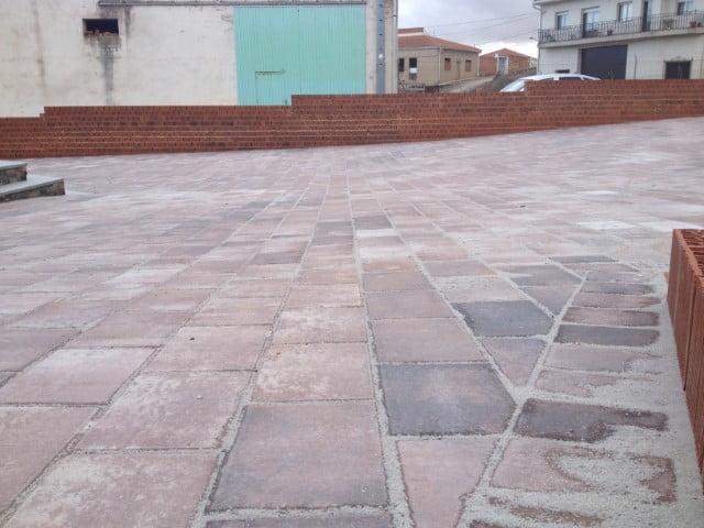 Adoquín rectangular en Valverde del Jucar | Prefabricados de la Jara | Adoquines Albacete y Madrid
