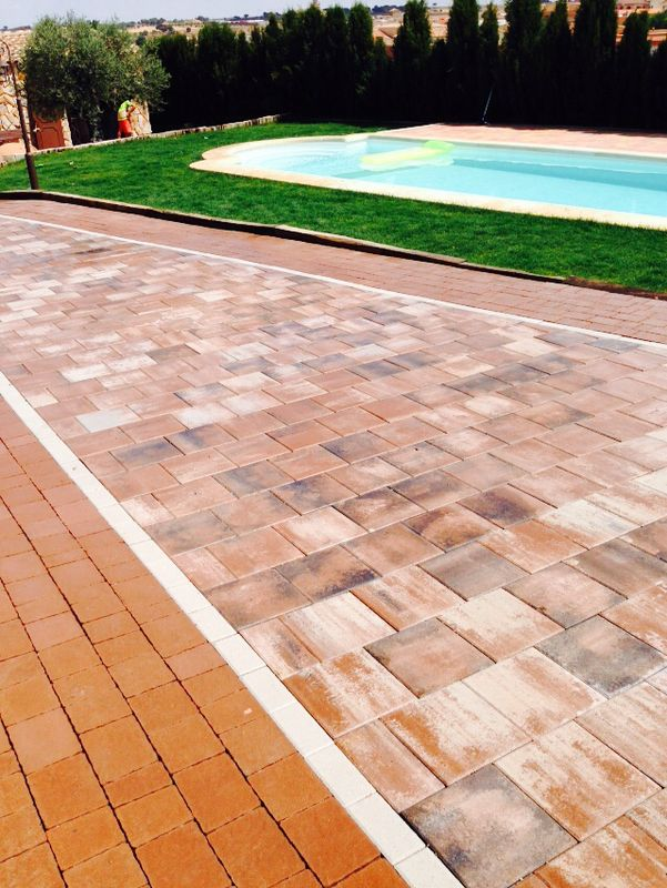 Pavimentos decorativos | Prefabricados de la Jara | Adoquines Albacete y Madrid