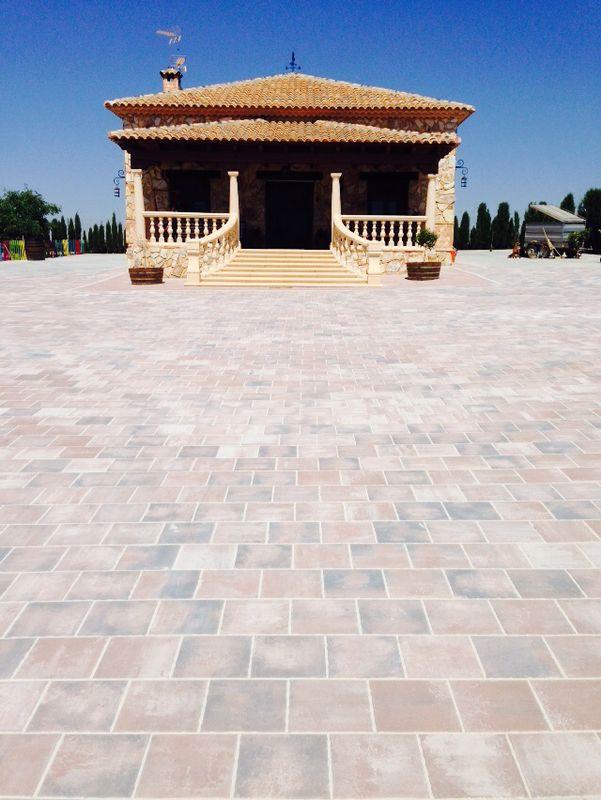Adoquín Cuadrado Teide | Prefabricados de la Jara | Adoquines Albacete y Madrid
