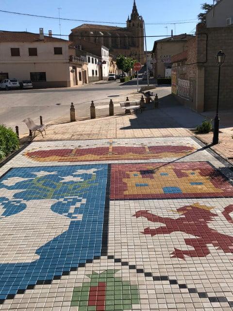 Pavimentos Villanueva de La Jara Escudo | Prefabricados de la Jara | Adoquines Albacete y Madrid