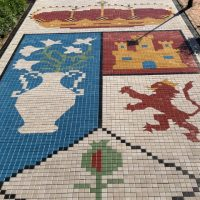 Escudo en Adoquín Cuadrado | Prefabricados de la Jara | Adoquines Albacete y Madrid