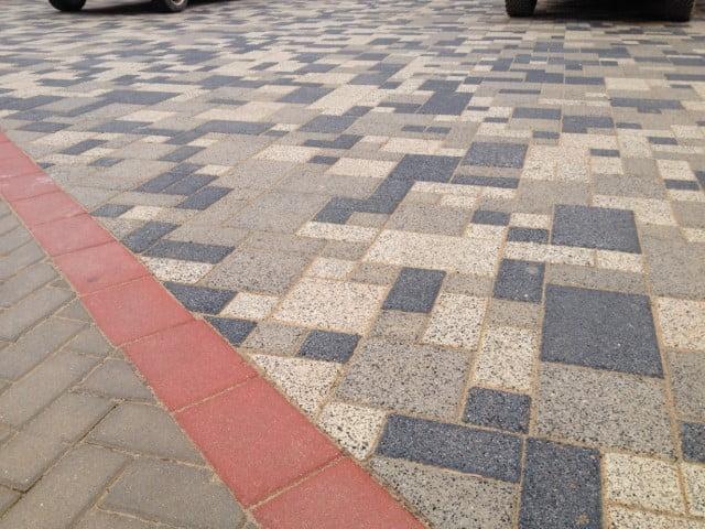 Adoquín Mezcla Cuadrados y rectangular | Prefabricados de la Jara | Adoquines Albacete y Madrid