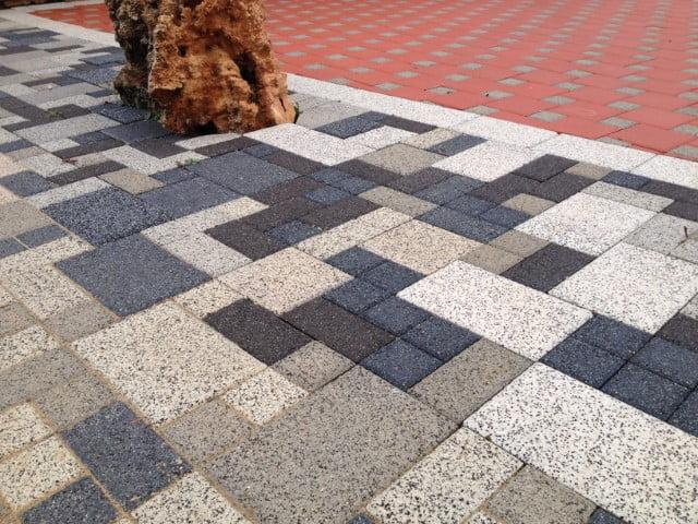 Adoquín mezcla cuadrados y rectangulares | Prefabricados de la Jara | Adoquines Albacete y Madrid