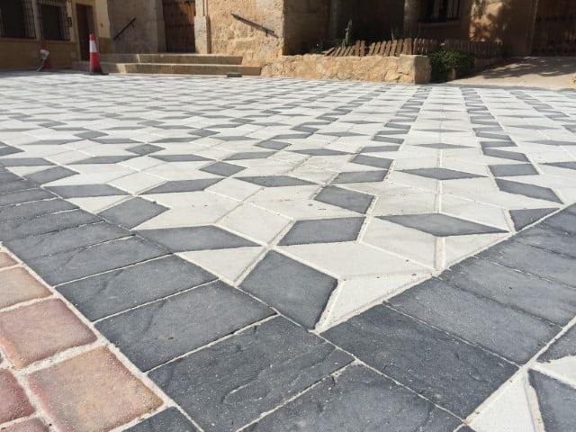 Villarta Adoquín Rombo | Prefabricados de la Jara | Adoquines Albacete y Madrid