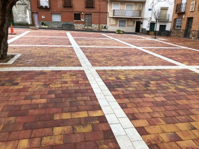 Pavimentos Rectangular Zarza de Tajo | Prefabricados de la Jara | Adoquines Albacete y Madrid