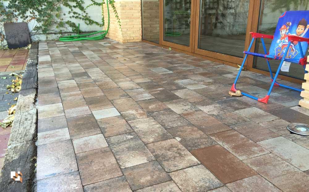 Adoquines en patios | Pavimentos para patios Prefabricados La Jara