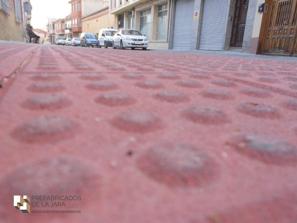 Pavimentos táctiles Albacete, Madrid | Prefabricados La Jara