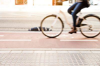 Adoquines carril bici