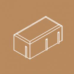 Adoquín rectangular